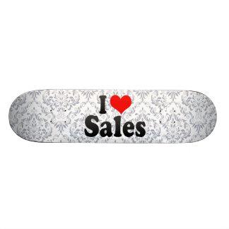 Eu amo vendas skate personalizado