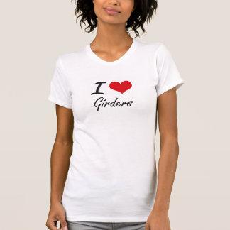 Eu amo vigas tshirts