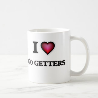 Eu amo vou getter caneca de café
