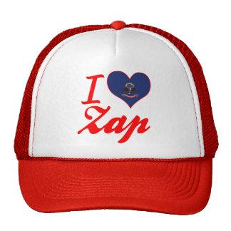 Eu amo Zap, North Dakota Boné