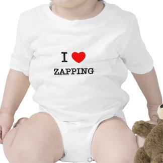 Eu amo Zapping Macacãozinho Para Bebê