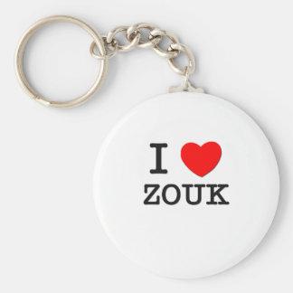 Eu amo Zouk Chaveiros