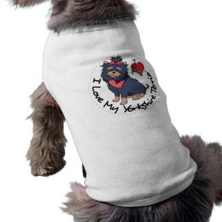 Eu-Amor-Meu-Yorkshire-Terrier Camiseta