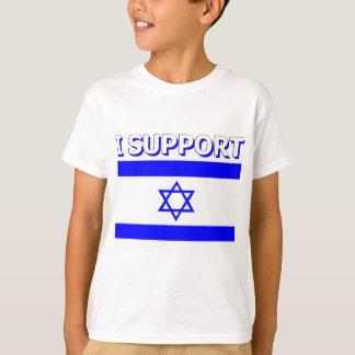 Eu apoio Israel Camiseta