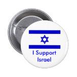 Eu apoio Israel Pins
