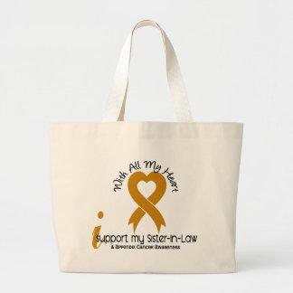 Eu apoio meu cancer do apêndice da cunhada bolsa