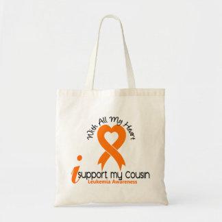 Eu apoio minha leucemia do primo bolsa para compra