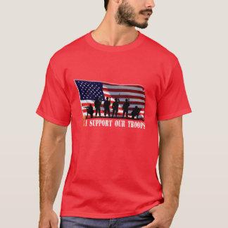 Eu apoio nossa camisa das tropas