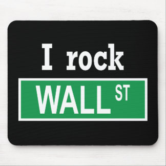 """Eu balanço Wall Street"" Mousepad"