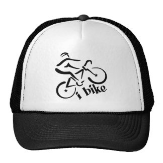 EU BIKE o chapéu - escolha a cor Boné