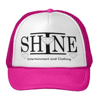 Eu brilho o chapéu do camionista do logotipo boné