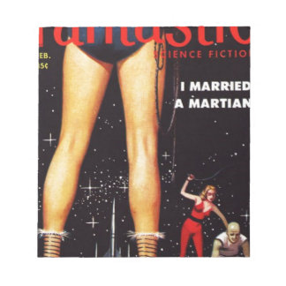 Eu casei um marciano bloco de anotação