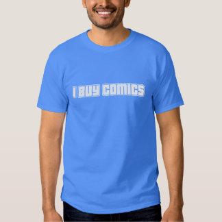 Eu compro a história em quadrinhos t-shirt
