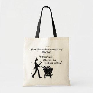 Eu compro livros bolsa tote