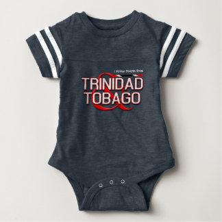 Eu conheço pessoas de Trinidad and Tobago Body Para Bebê