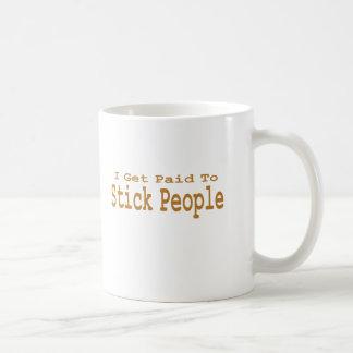 Eu consigo pago colar pessoas dos presentes caneca de café