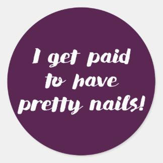 Eu consigo pago ter as unhas bonito! Etiquetas do