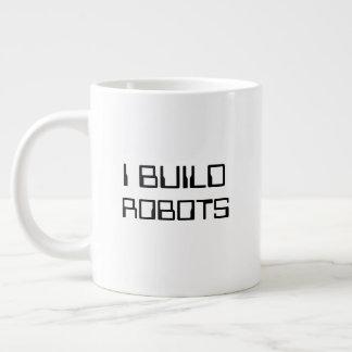 Eu construo a caneca dos robôs