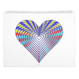 Eu coração Calendars o calendário 2017