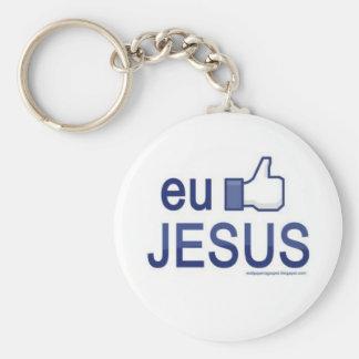 Eu curto Jesus Chaveiros