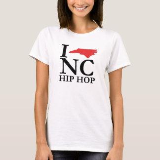 Eu da menina amo o T do NC Hip Hop Camiseta