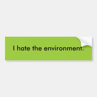 Eu deio o ambiente adesivo para carro