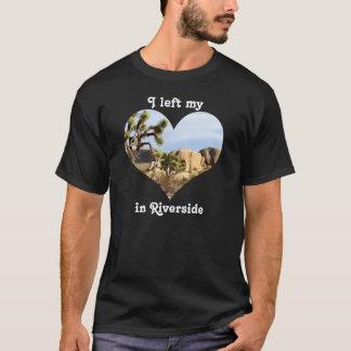 Eu deixei meu beira-rio Califórnia da árvore de Camiseta