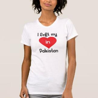 Eu deixei meu coração em Paquistão T-shirts
