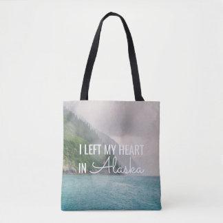 Eu deixei meu coração - sacola da paisagem | de bolsas tote