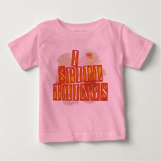 Eu derramo a camisa cor-de-rosa do humor dos bebés
