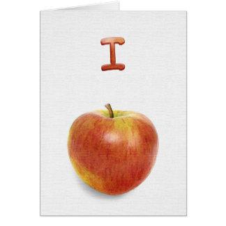 Eu desculpo-me! (I Apple-ogize). Cartão