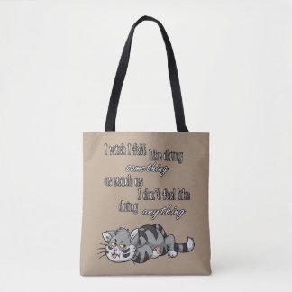Eu desejo I sentido como… Toda sobre - sacola do Bolsa Tote