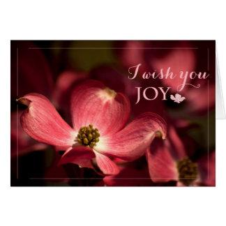 Eu desejo-lhe o cartão da alegria