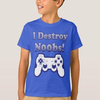 Eu destruo a camisa de N00bs