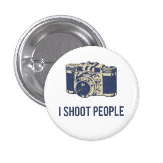 Eu disparo em pessoas da câmera da fotografia bóton redondo 2.54cm
