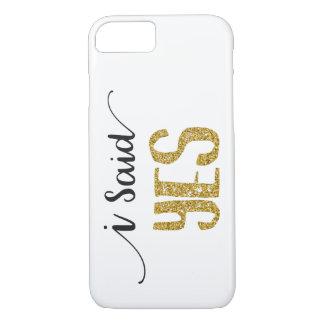 Eu disse o iPhone SIM Wedding de Apple 8/7 de capa
