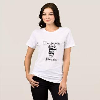 """Eu do branco de Walter """"sou a pessoa que cozinha """" Camiseta"""