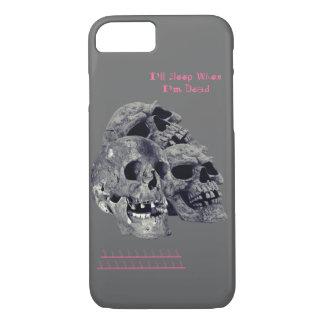 Eu dormirei quando eu sou escudo inoperante do capa iPhone 7