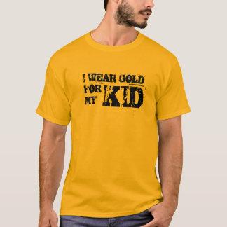 Eu dos homens visto o ouro para minha camisa do