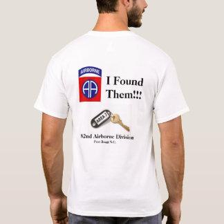 Eu encontrei-os camisa de T