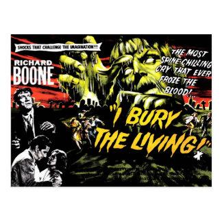 """""""Eu enterro"""" (os 1958) cartão vivo"""