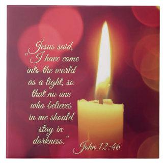 Eu entrei o mundo como uma luz, 12:46 de John