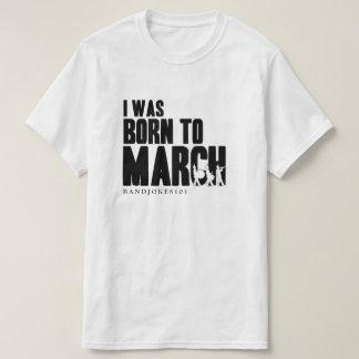 EU ERA NASCIDO a MARÇO - T (BW) Tshirt