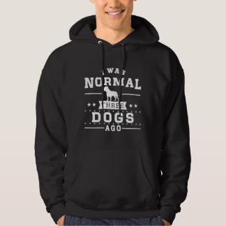 Eu era três cães normais há moletom