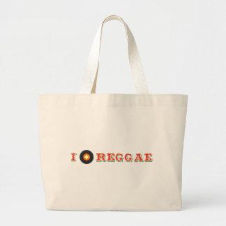 Eu escavo a reggae bolsas para compras