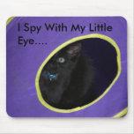 Eu espio com meu olho pequeno…. mouse pads