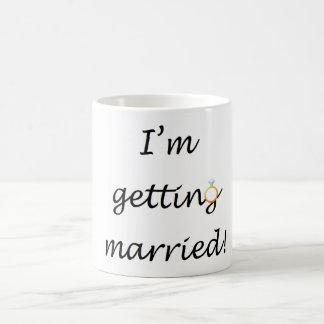 """""""Eu estou casando-me!"""" Caneca"""