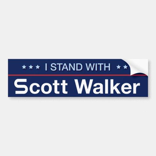 Eu estou com caminhante de Scott Adesivo