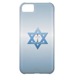 Eu estou com cruz do cristão de Israel Capa Para iPhone 5C
