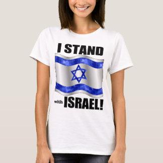 Eu estou com Israel! Camiseta